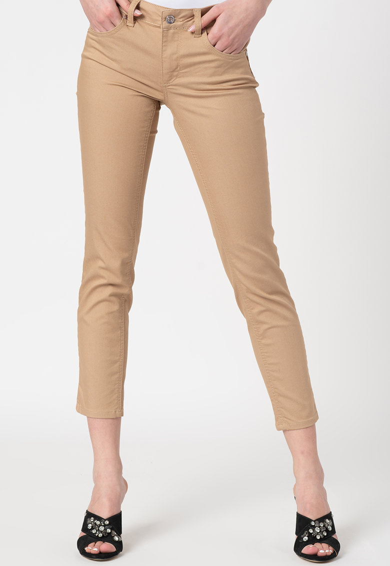 Pantaloni capri skinny