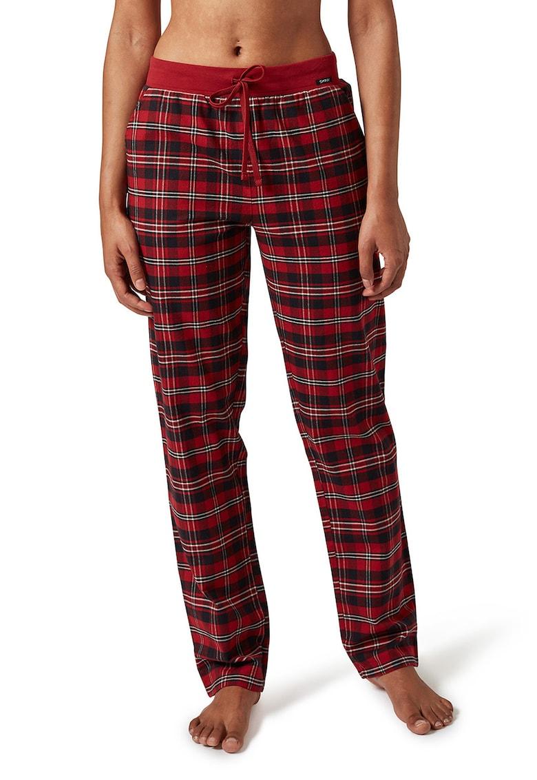 Pantaloni de pijama in carouri de la Skiny