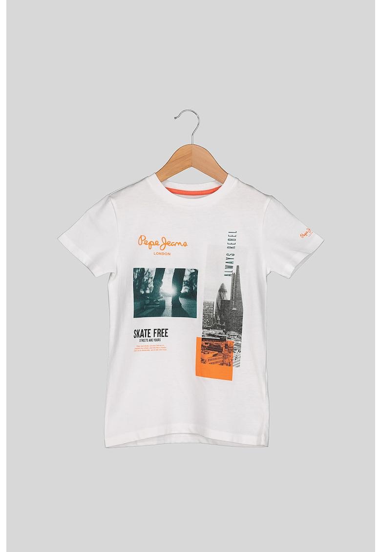 Tricou cu imprimeu foto Cameron imagine
