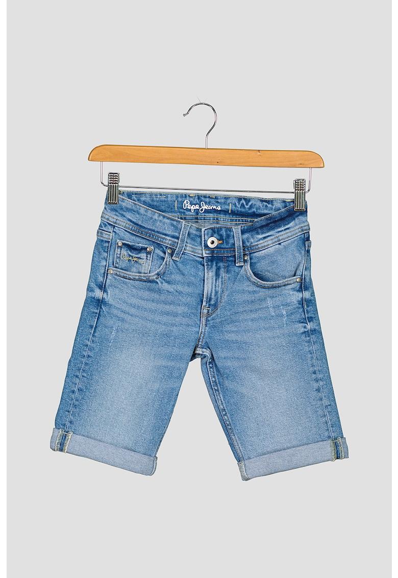 Bermude de denim Becket imagine fashiondays.ro Pepe Jeans London