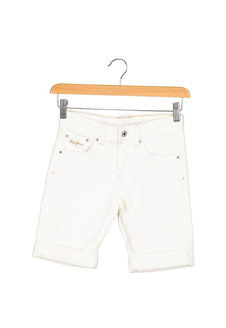 Bermude din denim Becket imagine fashiondays.ro Pepe Jeans London