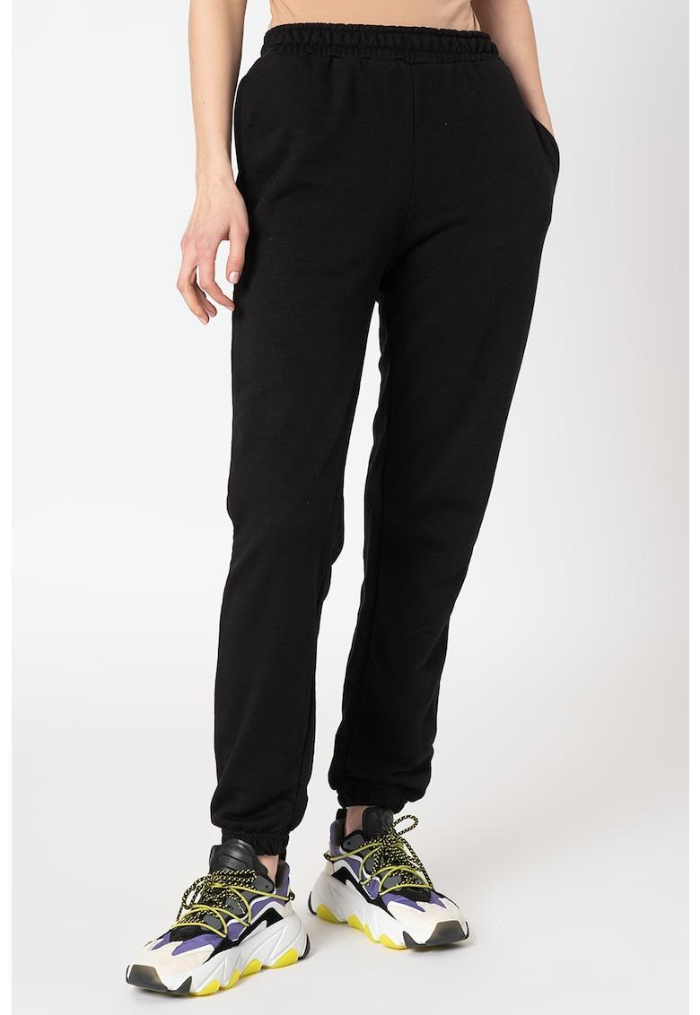 Pantaloni sport cu buzunare laterale Basic