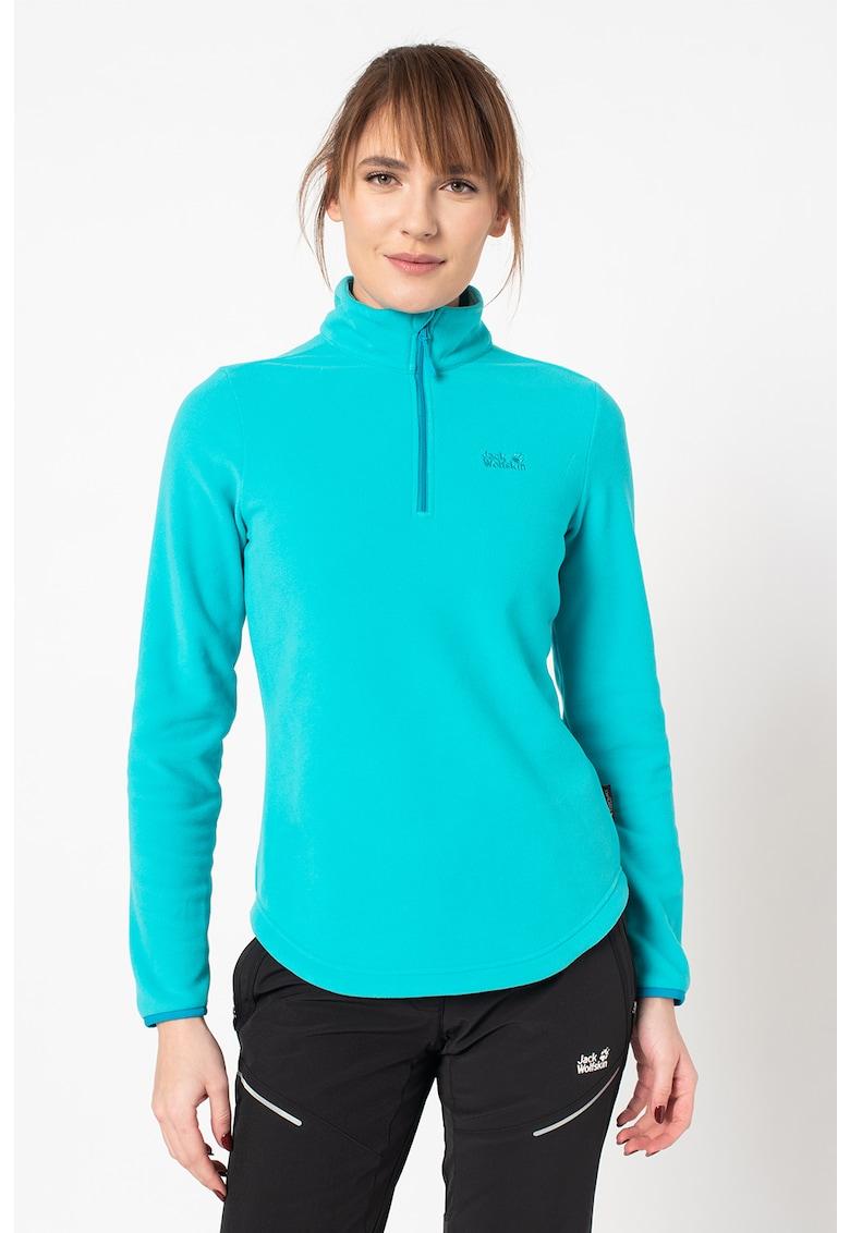 Bluza de fleece cu fermoar scurt - pentru drumetii Echo
