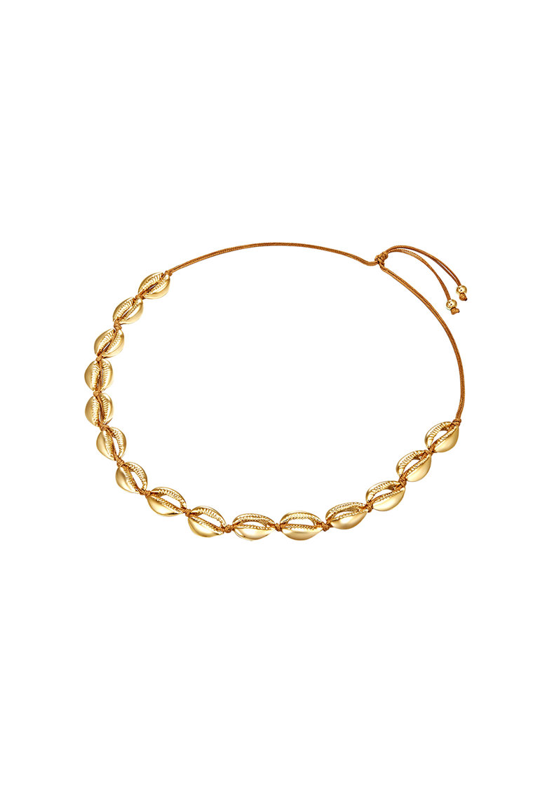 Bratara ajustabila placata cu aur imagine fashiondays.ro Highstreet Jewels