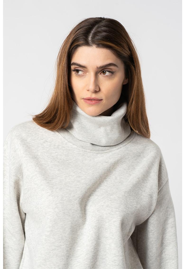 Bluza sport cu guler inalt imagine promotie