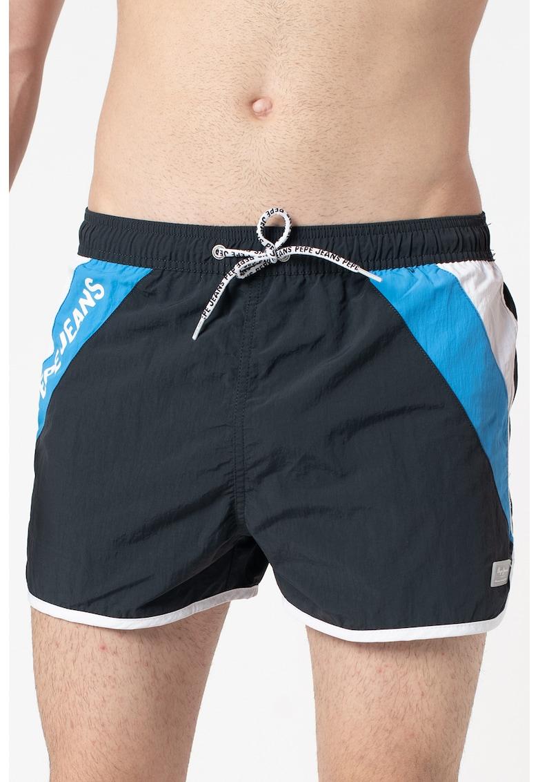 Pantaloni scurti de baie cu design colorblock Tomeo de la Pepe Jeans London