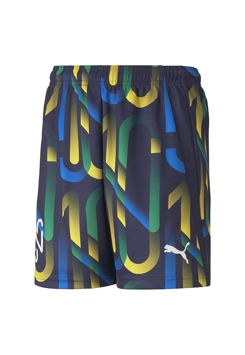 Pantaloni scurti cu imprimeu - pentru fotbal Hero poza fashiondays