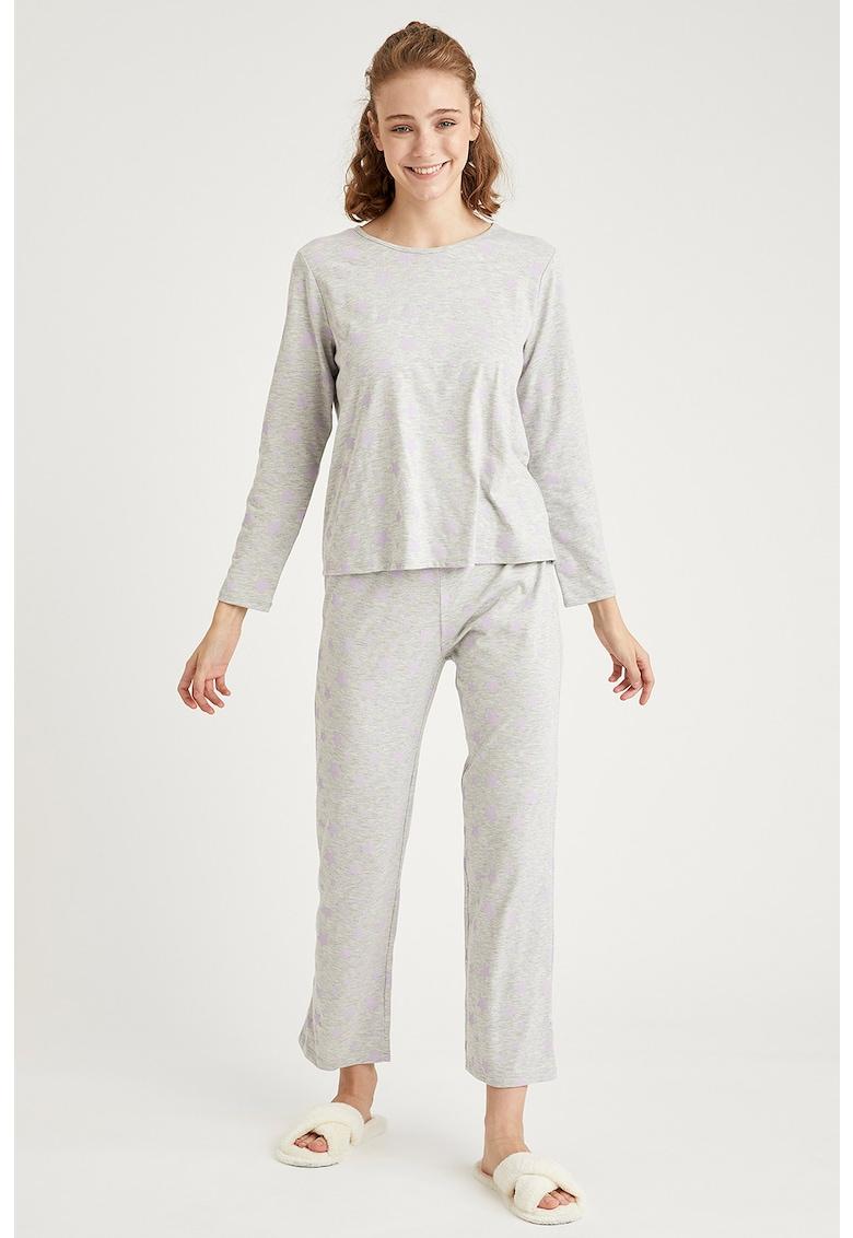 Pijama din amestec de bumbac imagine