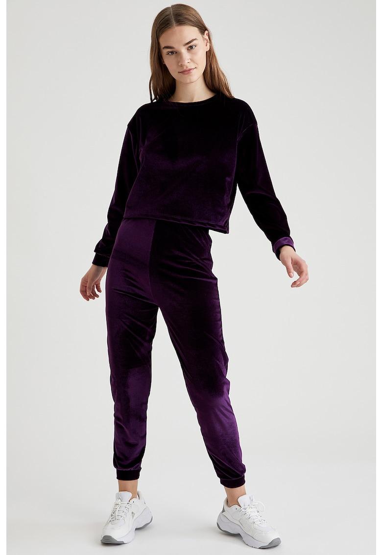 Pijama cu aspect catifelat