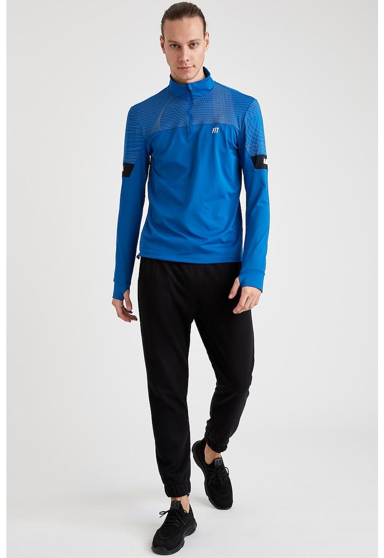 Bluza cu fermoar - pentru antrenament imagine
