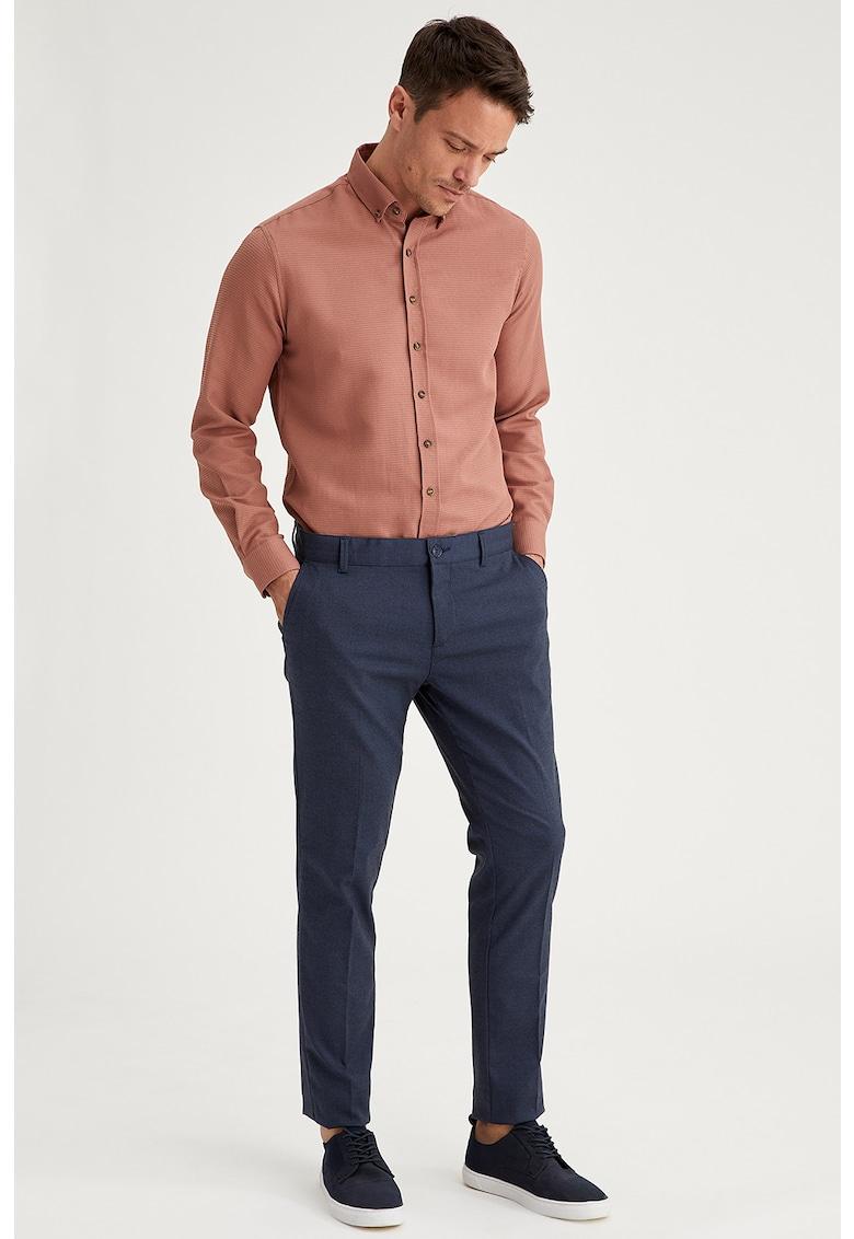 Pantaloni chino cu buzunare oblice DeFacto imagine 2021