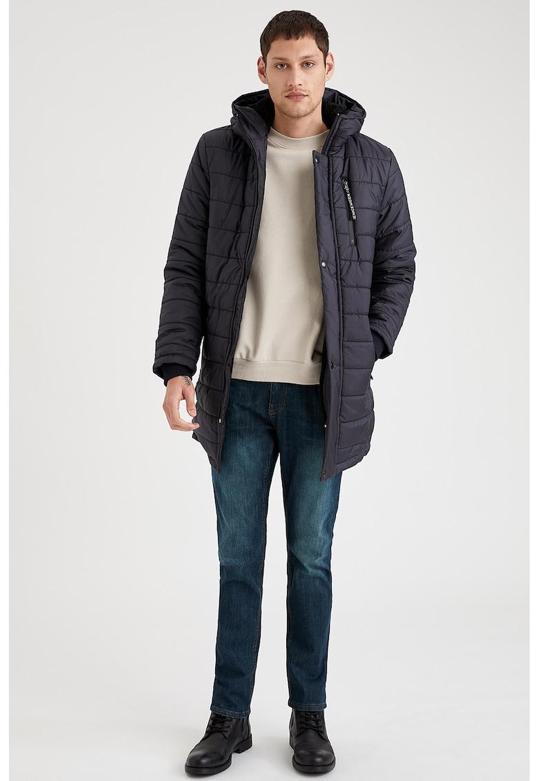 Jacheta cu vatelina si aspect matlasat DeFacto imagine 2021
