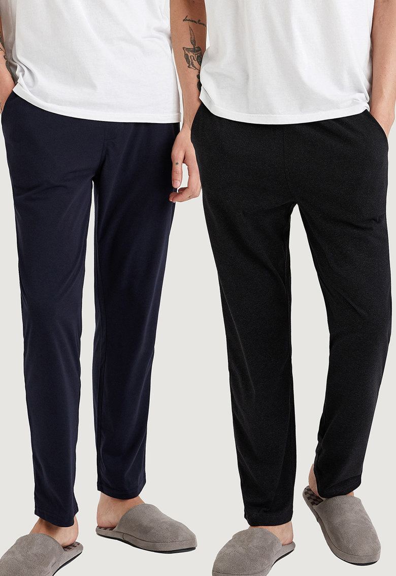 Set de pantaloni de pijama - 2 perechi imagine