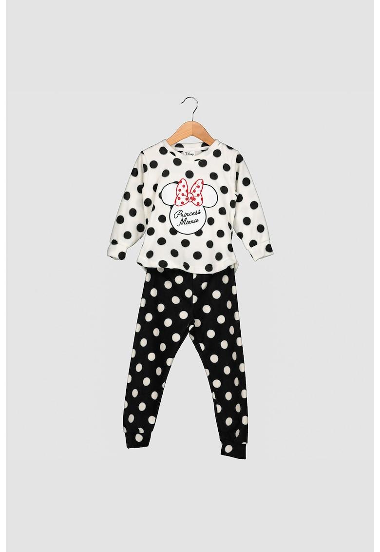 Pijama cu imprimeu cu Minnie Mouse imagine