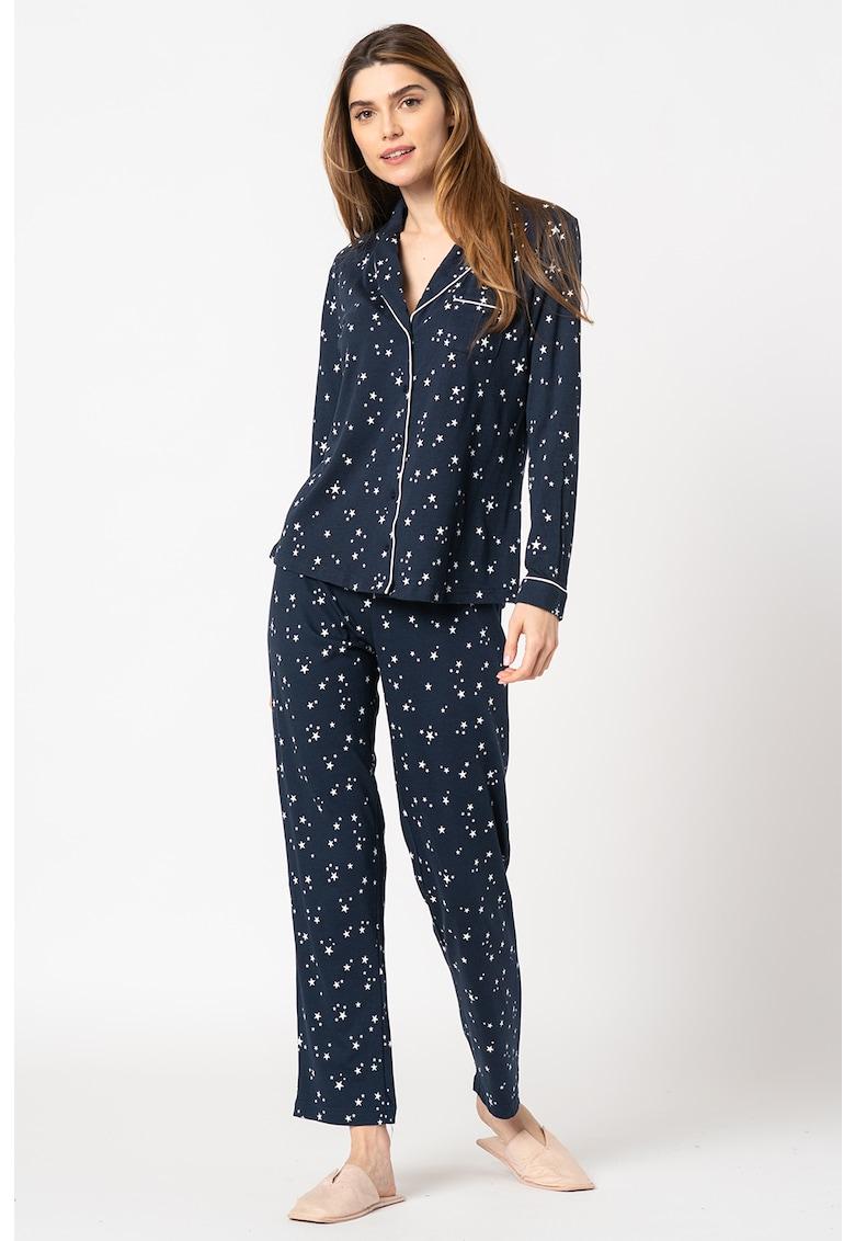 Pijama cu model cu stele