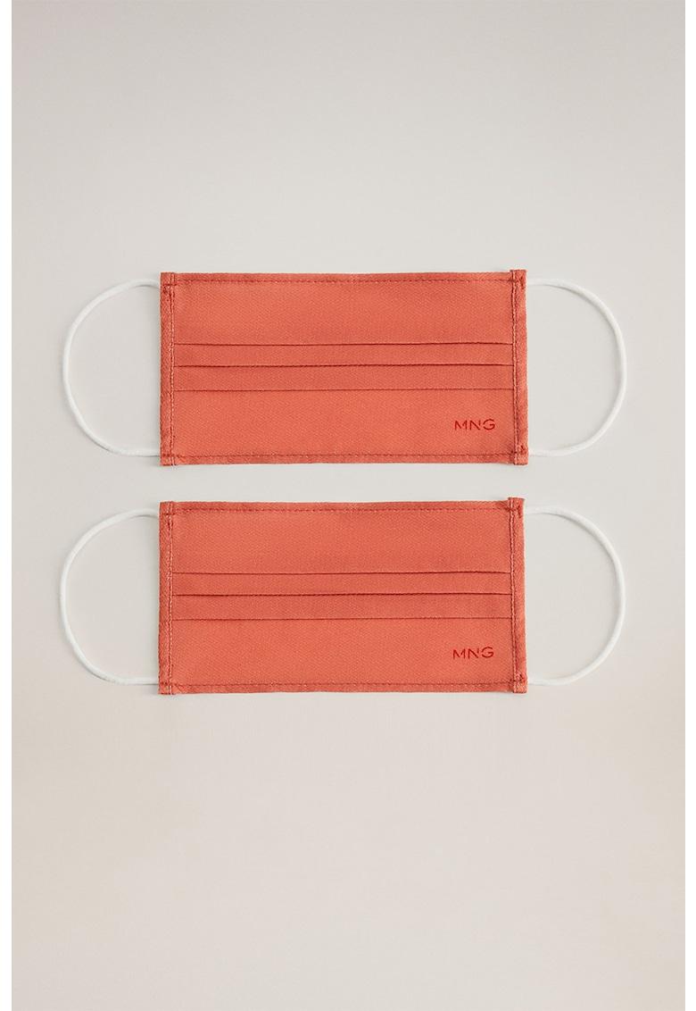 Set de masti faciale reutilizabile - omologate - 2 piese
