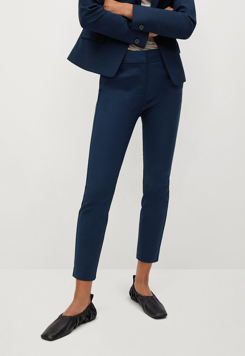 Pantaloni eleganti slim fit Cofi