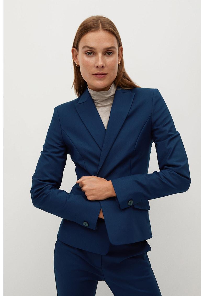 Sacou slim fit Cofi poza fashiondays