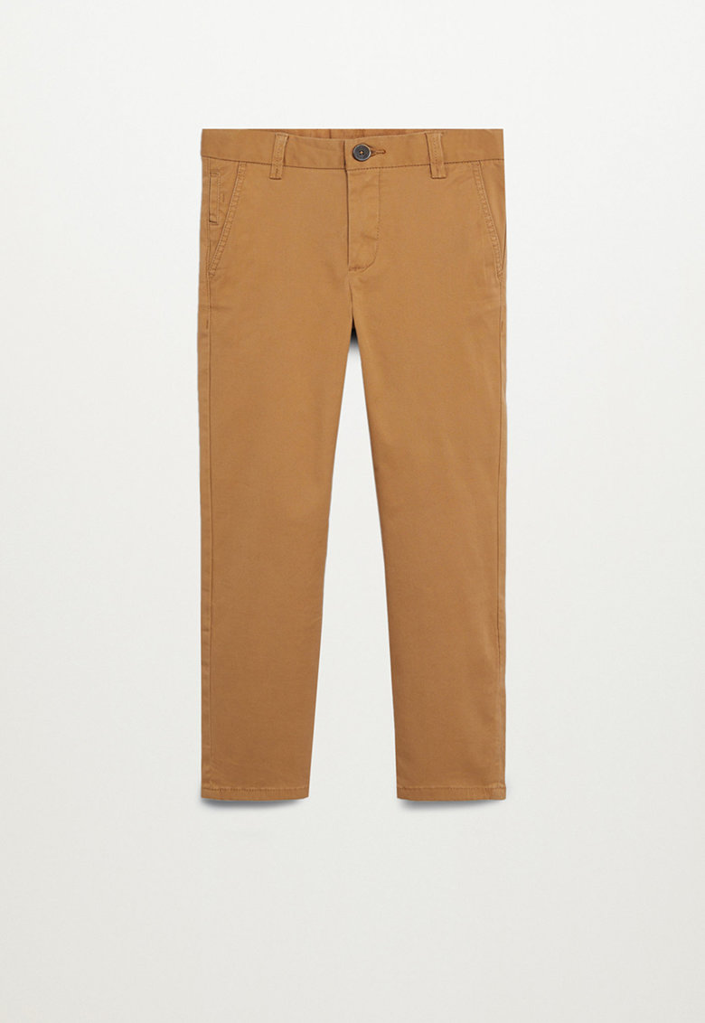 Pantaloni chino slim fit Piccolo imagine fashiondays.ro