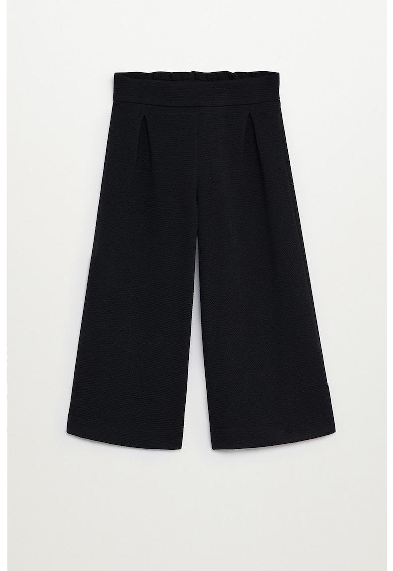 Pantaloni cullote din tricot Marne poza fashiondays