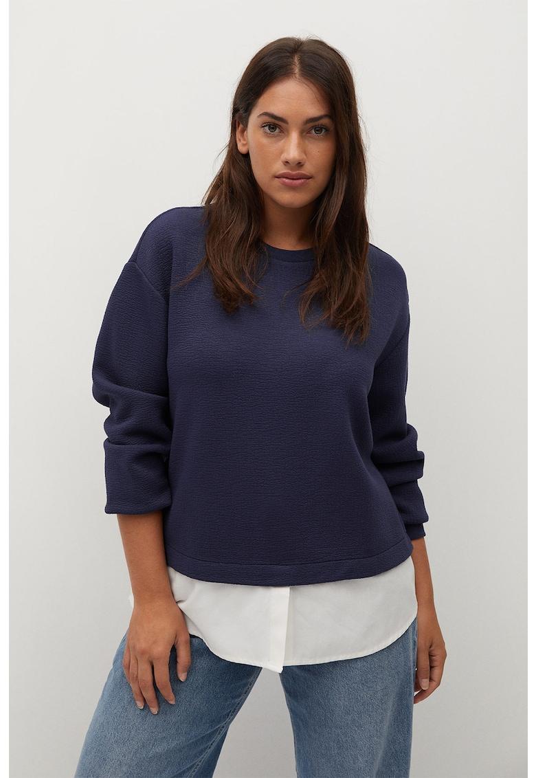 Bluza sport 2in1 cu aspect texturat Velero imagine promotie