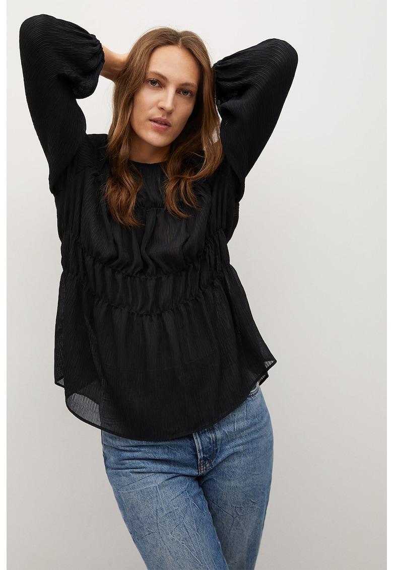 Bluza vaporoasa cu fronseuri Tiga imagine promotie