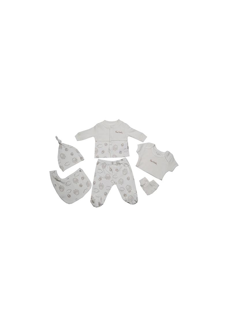 Set de imbracaminte cu imprimeu cu oi - 6 piese fashiondays.ro