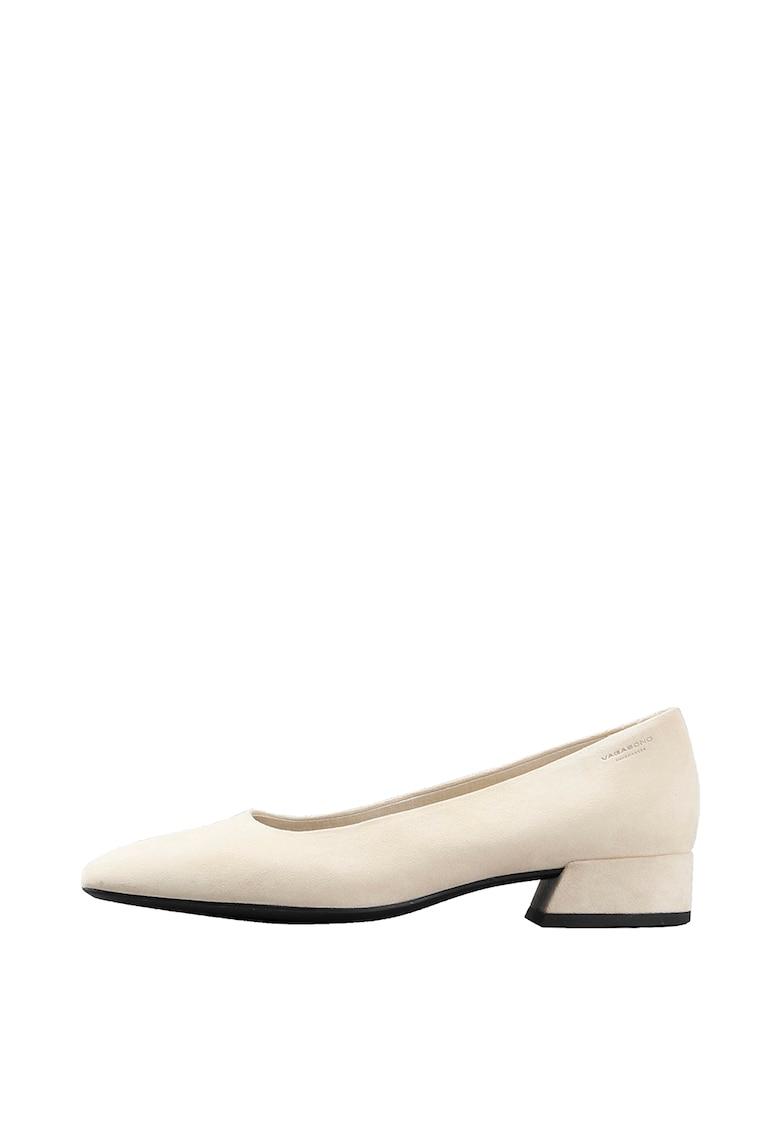 Pantofi din piele intoarsa cu varf patrat de la Vagabond Shoemakers
