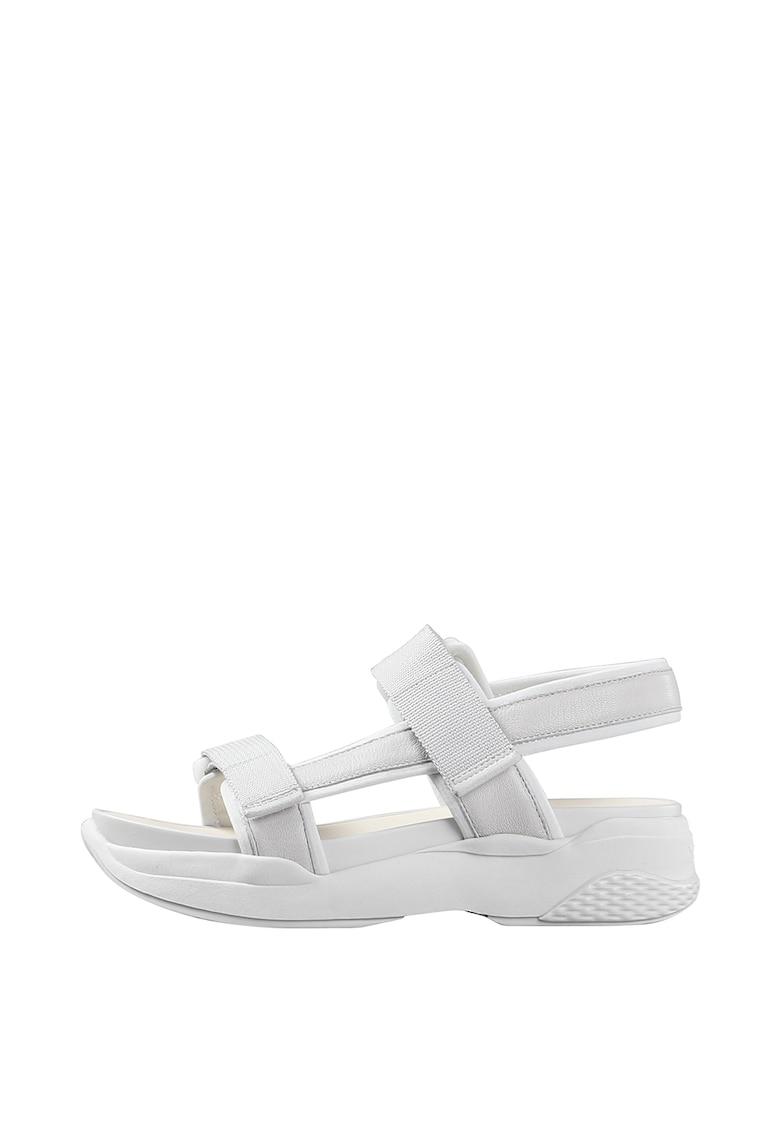 Vagabond Shoemakers Sandale din piele cu garnituri din material textil Lori