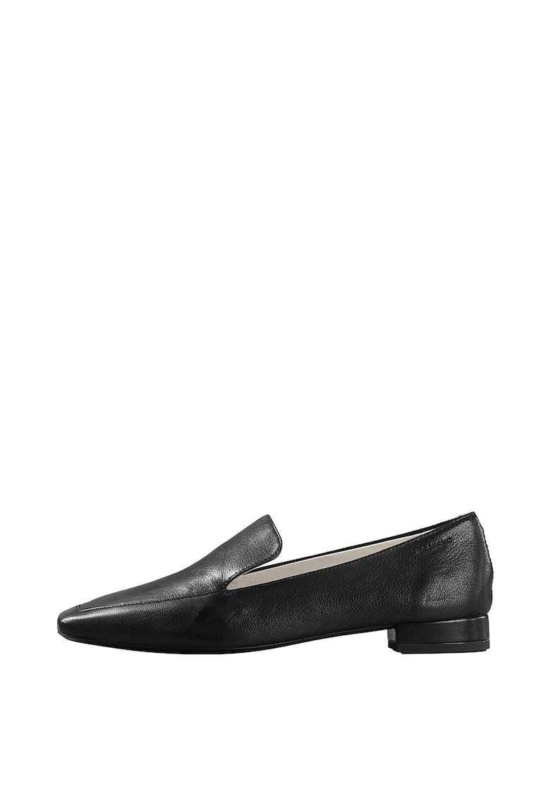 Pantofi loafer din piele cu varf patrat Layla