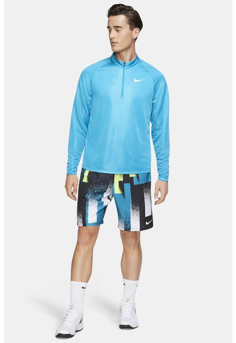 Bluza cu fermoar scurt - pentru tenis Court Challenger imagine
