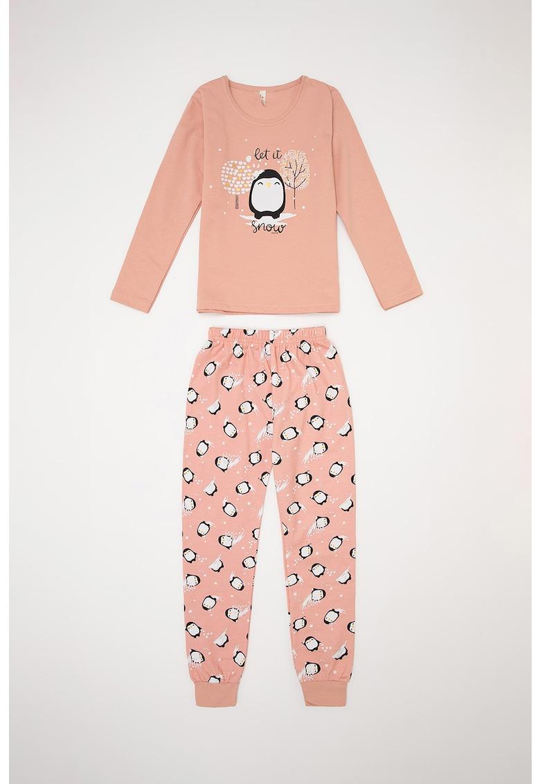 Pijama cu model grafic