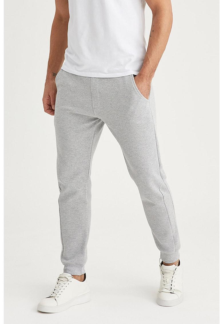 Pantaloni sport conici cu aspect texturat imagine