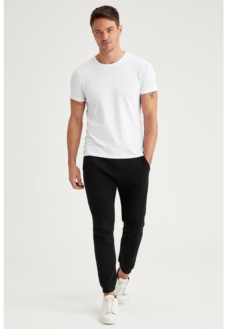 Poza Pantaloni sport conici cu aspect texturat