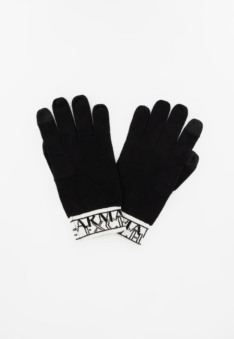 Manusi din tricot cu logo poza fashiondays