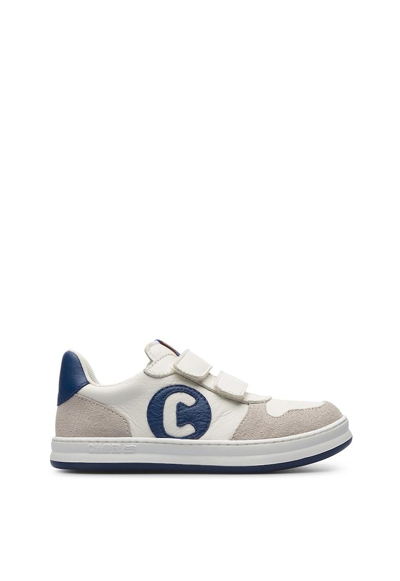 Pantofi sport din piele si piele intoarsa Runner imagine