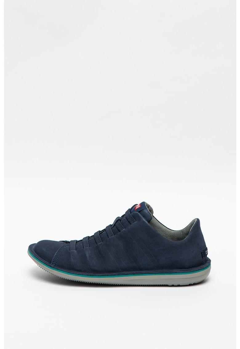 Pantofi sport slip-on din piele intoarsa Beetle
