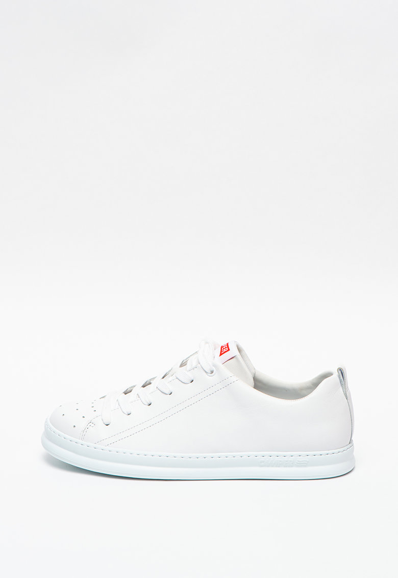 Pantofi sport din piele cu detalii perforate Runner Four imagine