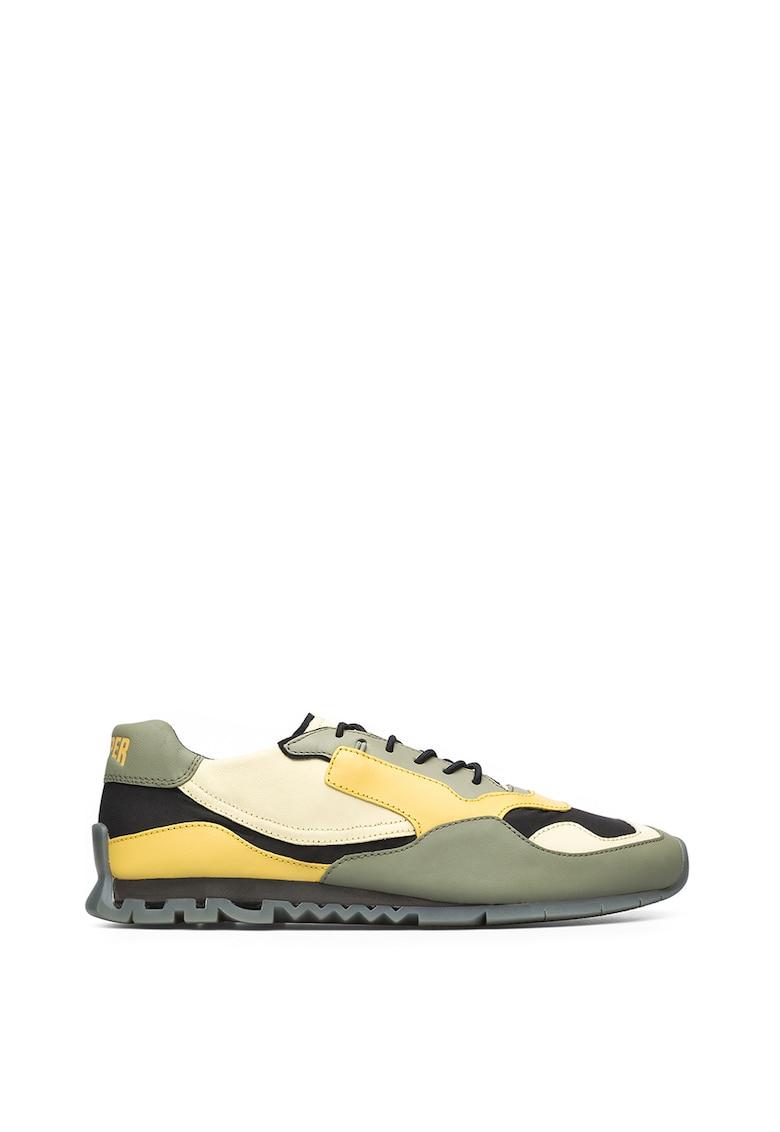 Pantofi sport din piele si material textil cu talpa cu striatii Nothing