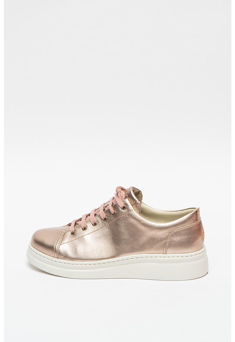 Pantofi sport din piele cu aspect metalizat Runner Up
