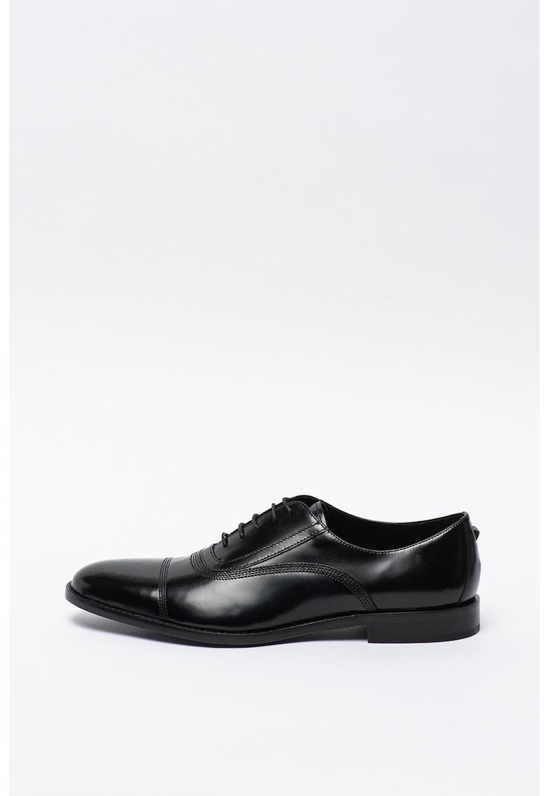 Pantofi Oxford de piele cu aplicatie cap-toe Urano II