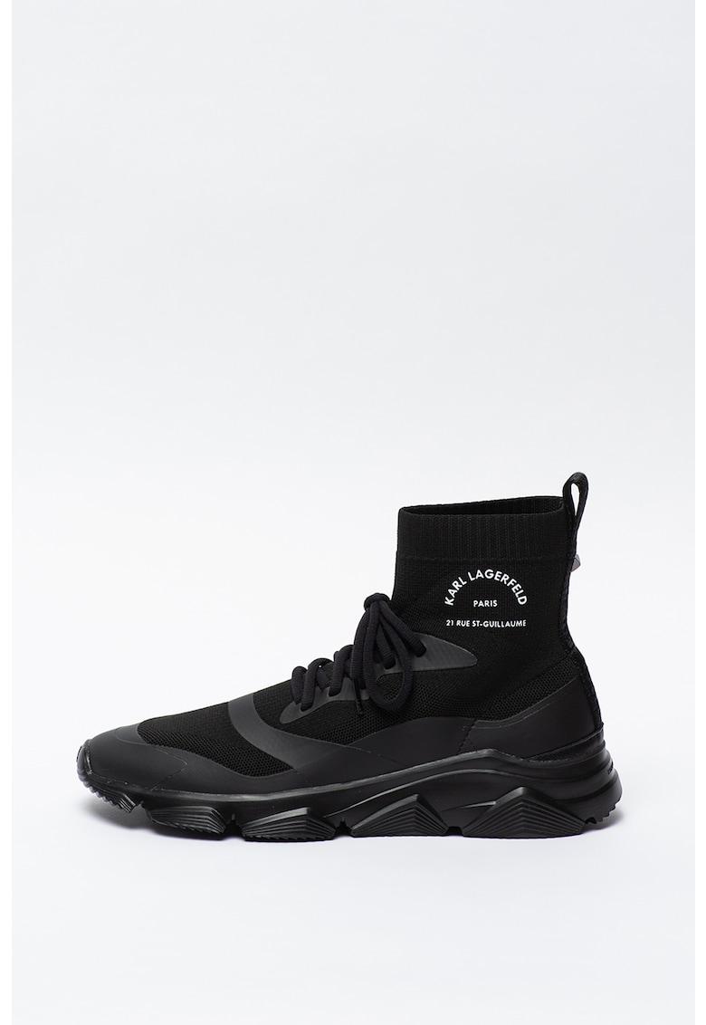 Pantofi sport cu model sosete Verge