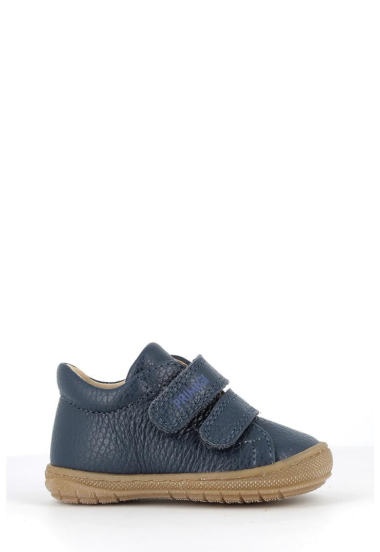 Pantofi de piele cu benzi velcro imagine