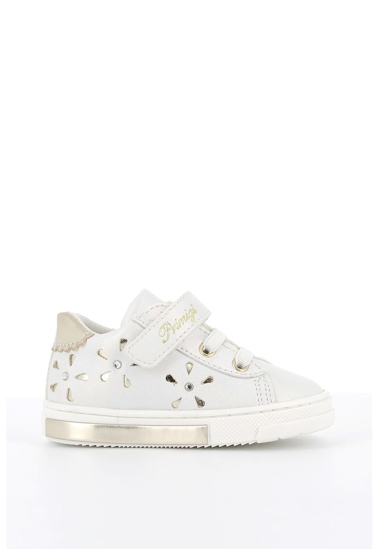 Pantofi sport de piele ecologica cu accente metalizate imagine promotie
