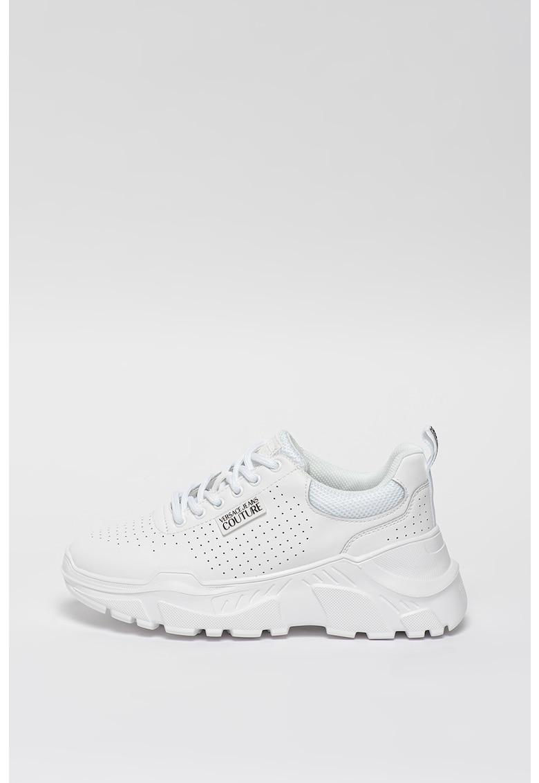 Pantofi sport cu aspect masiv si insertii din piele fashiondays.ro