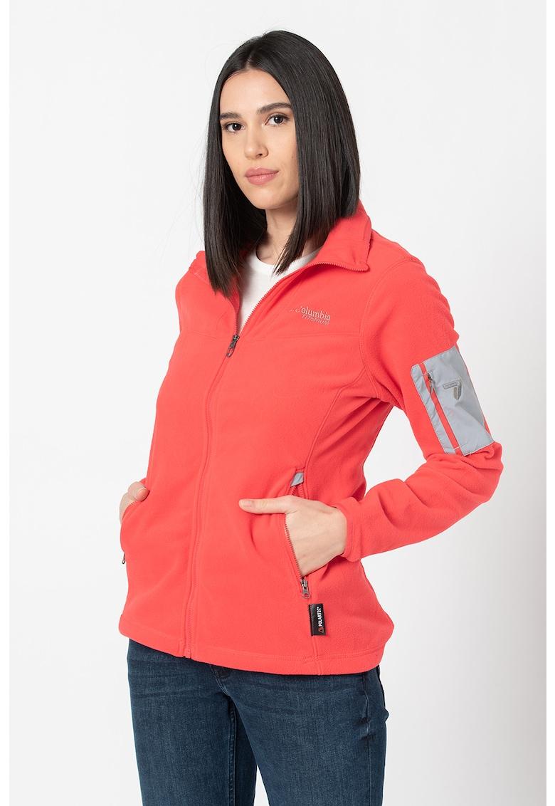 Bluza din fleece cu fermoar pentru sporturi de iarna Titan Pass 1.0 imagine