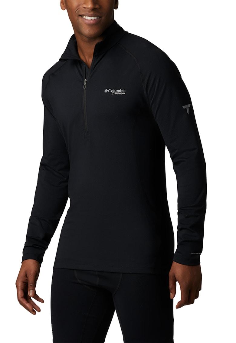 Bluza tricotata cu fermoar scurt - pentru drumetii Omni-Heat™ 3D imagine