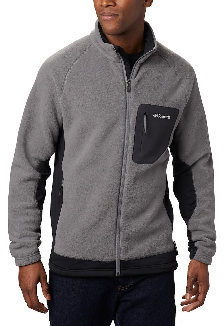 Bluza din material fleece cu fermoar - pentru drumetii Polar Powder imagine