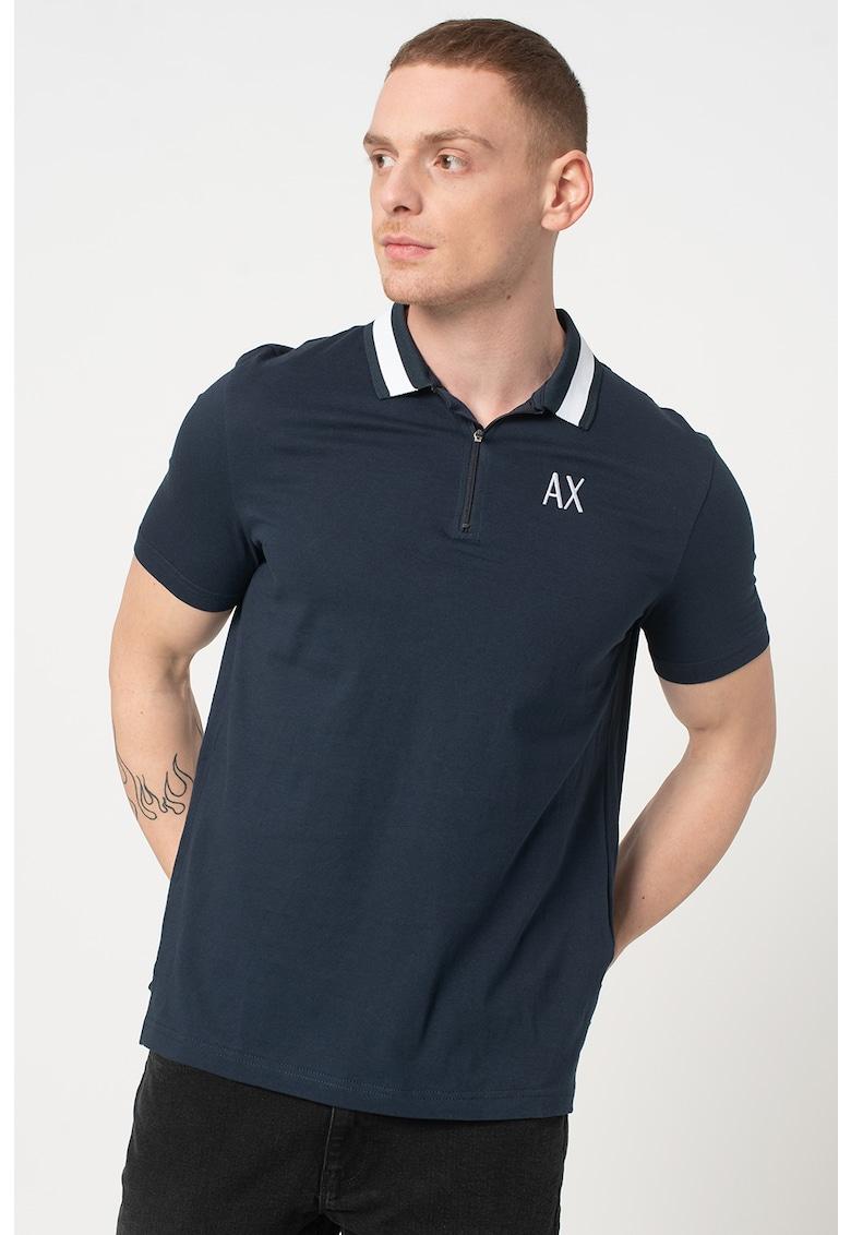 Tricou polo cu logo brodat imagine promotie