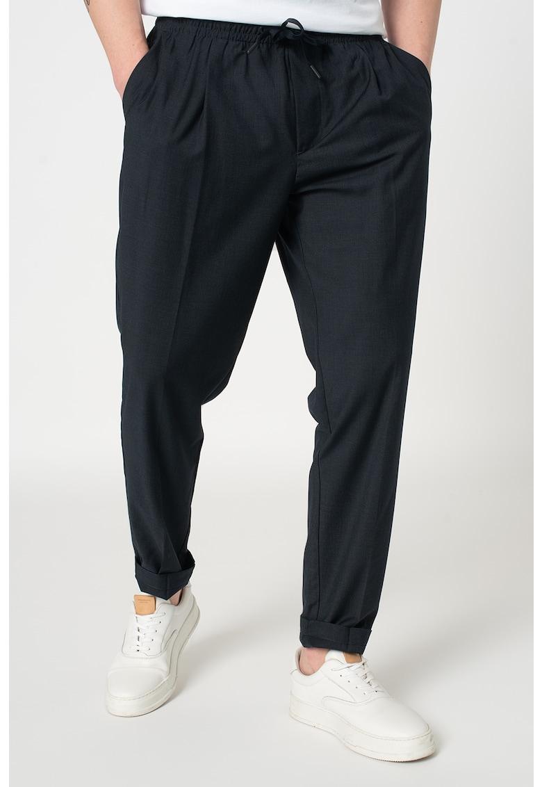 Pantaloni jogger cu snur imagine promotie